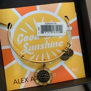 NWT Alex and Ani Beetles Good Day Sunshine